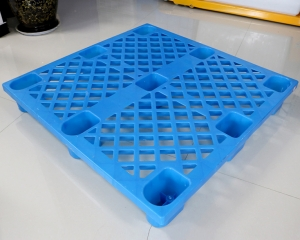 九脚网格塑料托盘